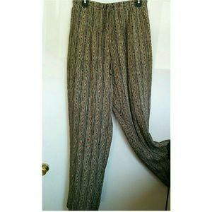 Vintage Wide Leg Pants ☪